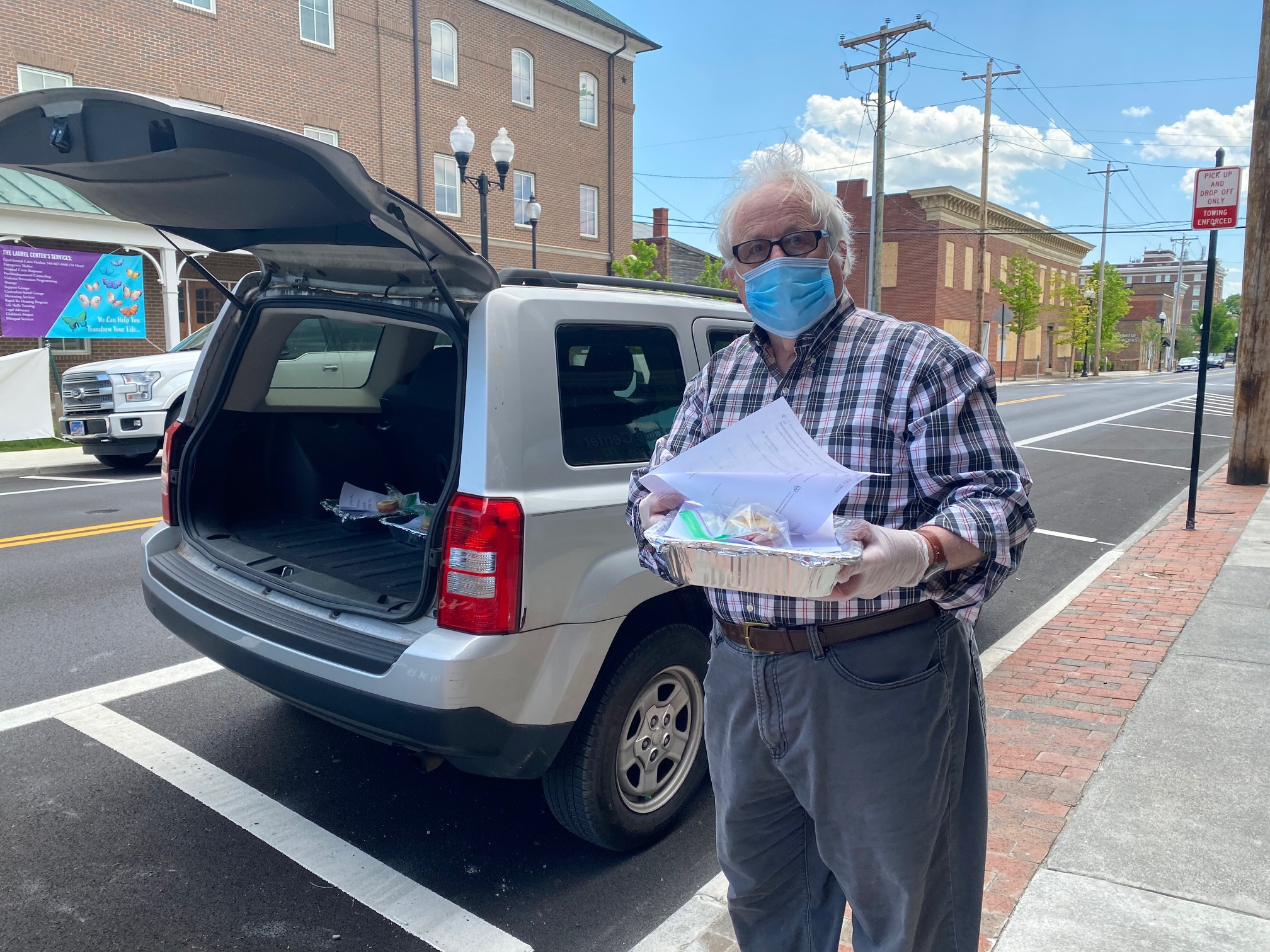 Delivering Food to the Adult Day Care Center